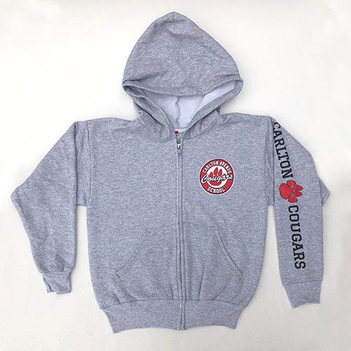 Spirit Wear - Kids Zip-up Hoodie Sweater